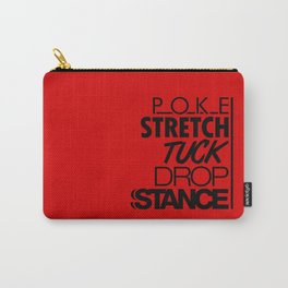 POKE STRETCH TUCK DROP STANCE v6 HQvector Carry-All Pouch