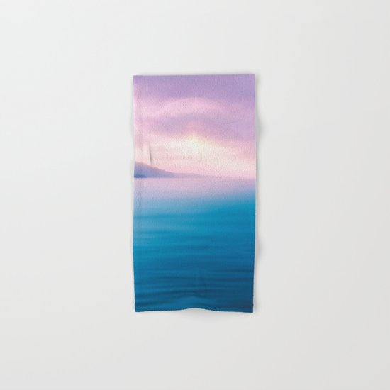 Sea - Pastel Hand & Bath Towel
