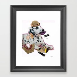 Beauty up, b... Framed Art Print