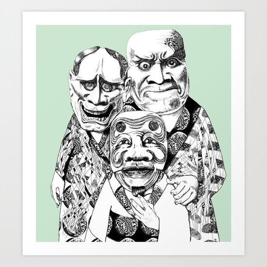 UZUMEN Art Print