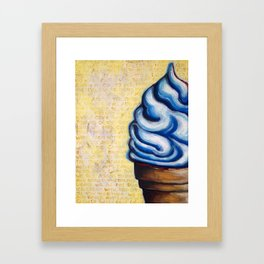 Blue Moon Framed Art Print
