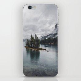 Maligne Lake Jasper Alberta iPhone Skin