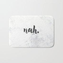 NAH Marble Quote Bath Mat