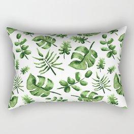 Falling Verde Rectangular Pillow