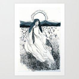 Ink Saint Art Print