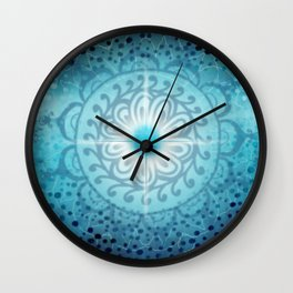 Vishudda - Chakra 5 Wall Clock