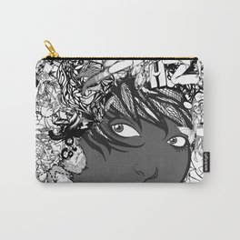 a doodly haircut Carry-All Pouch
