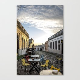 A time and a place Canvas Print