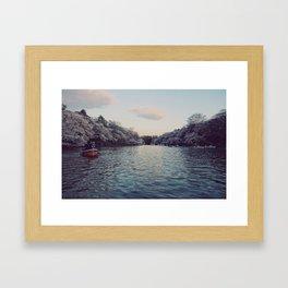 Inokashira Lake Framed Art Print