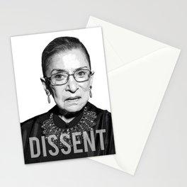 Ruth Bader Ginsburg DISSENT Collar RBG Stationery Cards