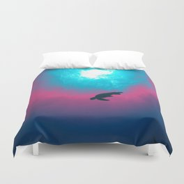 Space Wave Duvet Cover