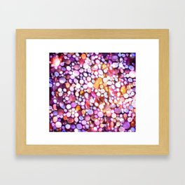 Bubble Blitz Framed Art Print
