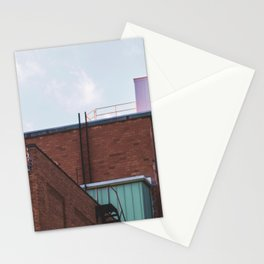 Ladders and Railings-Architecture and the Sky Stationery Cards
