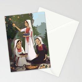 Orange Harvest Stationery Cards