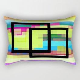 Time and Place Rectangular Pillow