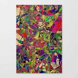 Fields of Technicolour Dreams Canvas Print
