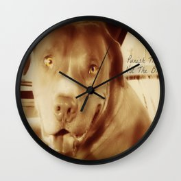 Punish The Deed, Not The Breed  Wall Clock