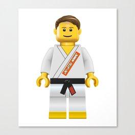 Jiu jitsu maniac Canvas Print