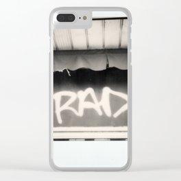 Rad Spectra B&W Clear iPhone Case