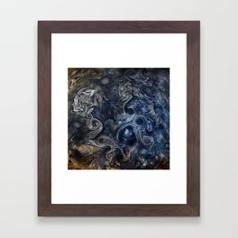 Jupiter Blues Framed Art Print