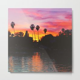 Greetings From Echo Park, Los Angeles V Metal Print