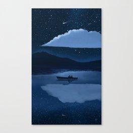 august Canvas Print