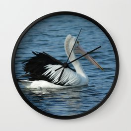 Aussie Pelican Wall Clock
