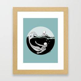 Stone Cold Sea Dwellers Framed Art Print
