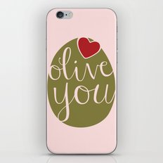 Olive You! iPhone & iPod Skin