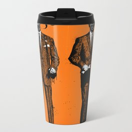 HALLOWEEN ZOMBIES Metal Travel Mug
