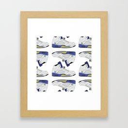 """Jordan """"Laney"""" 5 Framed Art Print"""