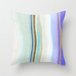 geode art, agate art, agate slice, agate slice art, mineral art, abstract agate, contemporary art Throw Pillow