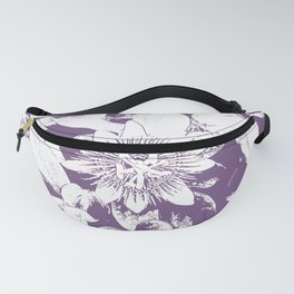 Passionflower in Purple Fanny Pack