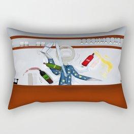 Corky the Flaring Man Rectangular Pillow