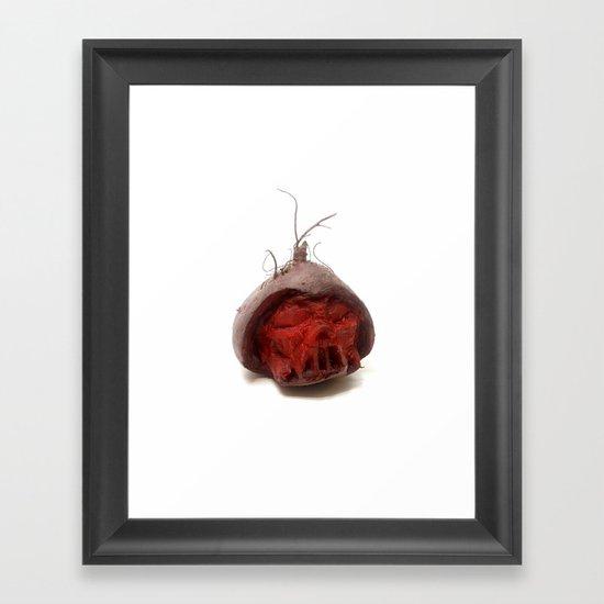 Beet Vader Framed Art Print