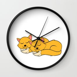 "A Real Tee For A Cat Lover You Saying ""Snuggle Is Real"" T-shirt Design Cats Animals Pets Kitten Wall Clock"