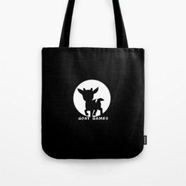 Goat Games Black&White Tote Bag