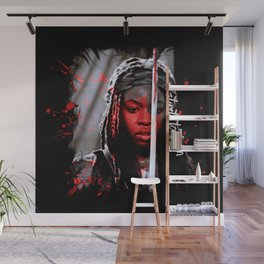 Michonne The Walking Dead Start to Finish Wall Mural