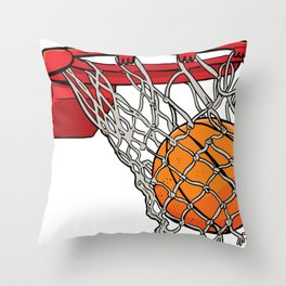 ball basket Throw Pillow