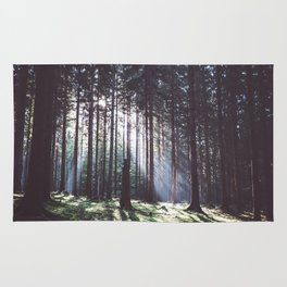 Magic forest - Landscape and Nature Photography Rug