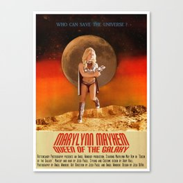 MaryLynn can save the Universe Canvas Print