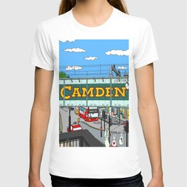 Bunnies in London Camden Lock T-shirt