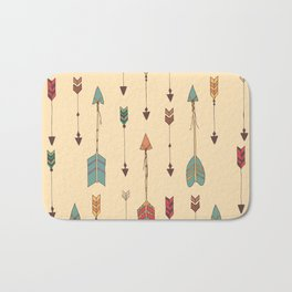 Bohemian hand drawn arrows, 01 Bath Mat