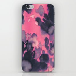 watercolor waves COLLAB DYLAN SILVA iPhone Skin