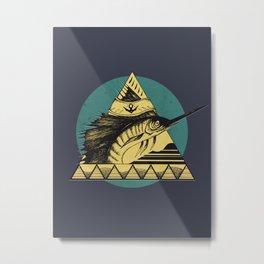 Espadon Metal Print