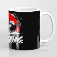 lebron Mugs featuring Lebron J by squadcore