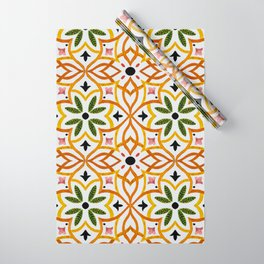 Obsession nature mosaics Wrapping Paper