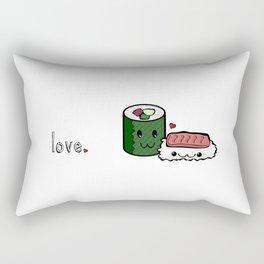 Love Sushi Rectangular Pillow