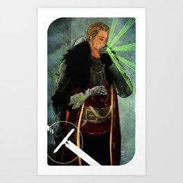 Cullen Romance Tarot Card Art Print
