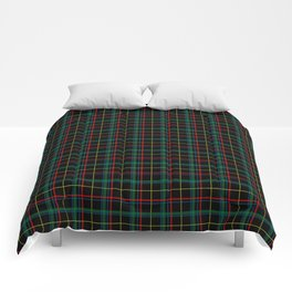 Red and green plaid Comforters